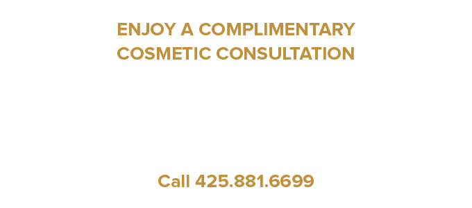 Enjoy a complimentary cosmetic consultation with a Bellevue cosmetic dentistry expert