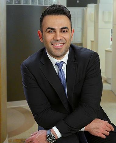 Dr. Reza Atashzareh - your implant dentist in Redmond, WA.